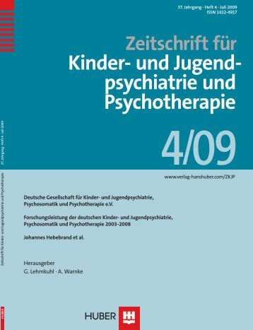 und Jugend- psychiatrie und Psychotherapie - Deutschen ...