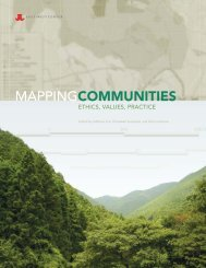 Mapping Communities: Ethics, Values, Practice - East-West Center