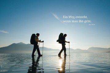 Ein Weg entsteht, wenn man ihn geht. - München und Oberland