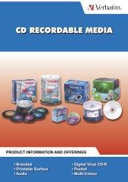 CD RECORDABLE MEDIA - EYO Technologies