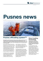 Pusnes News 2011 - Aker Solutions