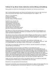 1 Professor Dr.-Ing. Werner Andres: Ambivalenz zwischen Bildung ...