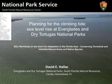 David Hallac - National Park Service