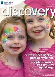 Issue 35, November 2010 - Murdoch Childrens Research Institute
