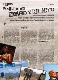 COLUMNA / Postales en negro y blanco - Revista La Central