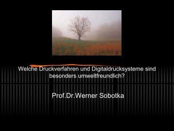 Prof.Dr.Werner Sobotka - DOXNET