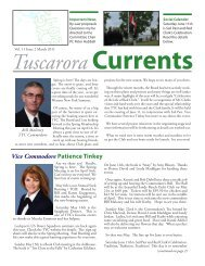 Vol 11 Issue 2 March 2011 - Tuscarora Yacht Club