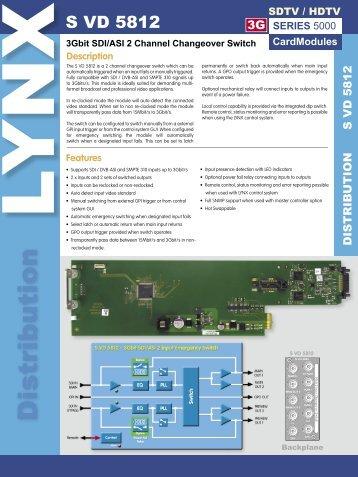 S VD 5812 Rev 1.4.indd - LYNX Technik AG