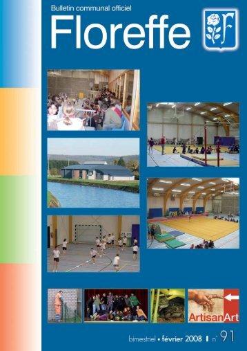 Bulletin communal de Février 2008, n°91 (pdf 811Ko) - Floreffe