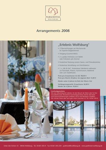 Arrangements 2008 - im Parkhotel Wolfsburg
