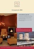 Arrangements 2008 - im Parkhotel Wolfsburg - Seite 2