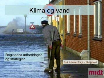 Rolf Johnsen, Region Midtjylland - Klimatilpasning