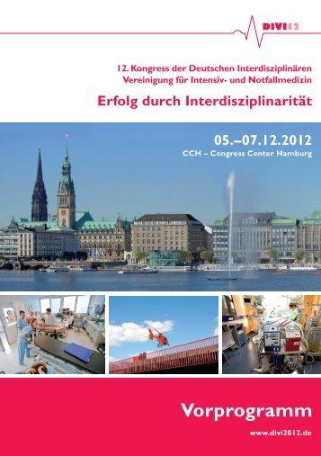 Vorprogramm DIVI 2012