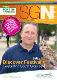 SGNews Autumn 2012.indd - South Gloucestershire Council