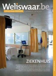 DOSSIER: het ziekenhuis - Weliswaar