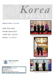 Special Issue July 2010 NEW ZEALAND PRIME MINISTER JOHN ...