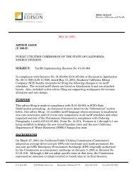 May 22, 2001 ADVICE 1545-E - California Independent Petroleum ...