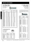 2 Metric Fasteners.indd - S&R Fastener Co., Inc. - Page 5