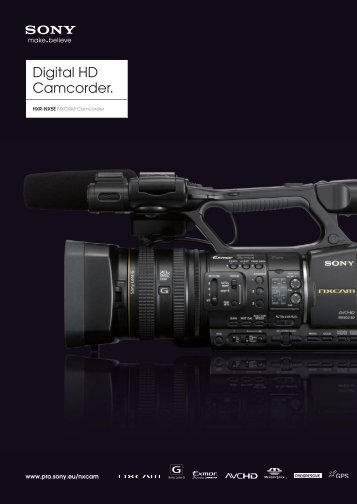 Sony HXR-NX5E Brochure PDF - Top Teks Limited
