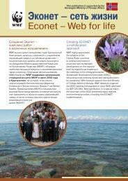 Эконет – сеть жизни - Всемирный фонд дикой природы