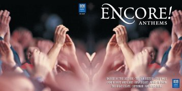 Encore! Anthems Booklet - Buywell