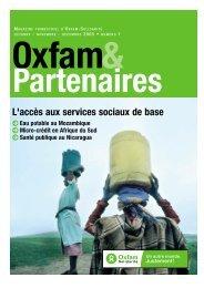 L'accès aux services sociaux de base