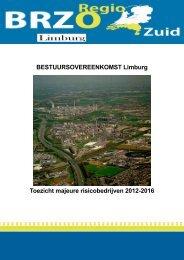 BESTUURSOVEREENKOMST Limburg Toezicht majeure ...