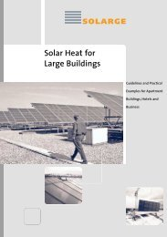 Solar Heat for Large Buildings - SOLARGE