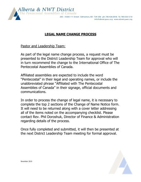 a80325942 As part of the legal name change process