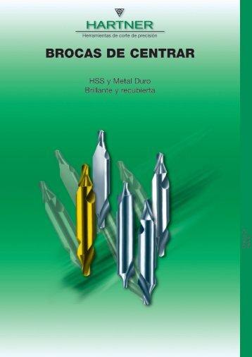 BROCAS DE CENTRAR