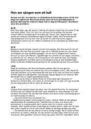 Publicerad i Arbetsliv nr 3/2009. - neij.se