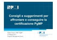6. Program Management - Certification - PMI-NIC