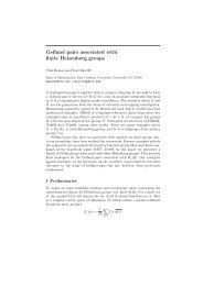 Gelfand pairs associated with finite Heisenberg groups - Ecu - East ...