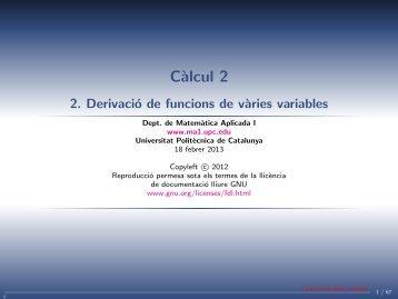 versió classe - UPC