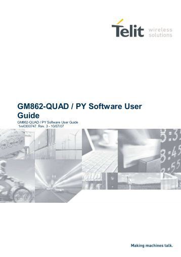 GM862-QUAD / PY Software User Guide - the Parallax Discussion ...