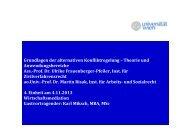 Gastvortrag Karl Miksch - Universität Wien