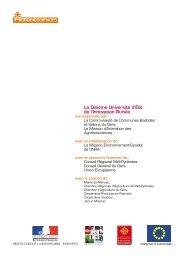 La Dixième Université d'Été de l'Innovation Rurale - Mission d ...