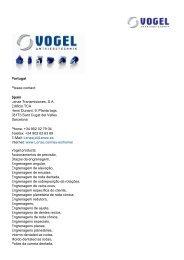 Portugal Please contact: Spain Lenze Transmisiones, S.A. Edificio ...