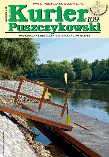 Kurier 109-fonty.indd - Stowarzyszenie Przyjaciół Puszczykowa