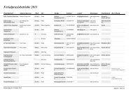 Ferialpraxisbetriebe 2011 - MODUL Info