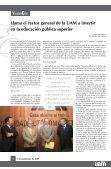 Aprueba el Colegio Académico departamentos de la Unidad Lerma - Page 2