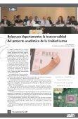 Aprueba el Colegio Académico departamentos de la Unidad Lerma - Page 4
