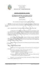 resolution earnestly requesting the hon. congressman erico ... - Jagna