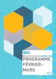 PROGRAMME FÉVRIER - MARS - l'Institut français de Vienne
