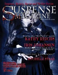 Kathy Reichs IrIs Johansen - Suspense Magazine