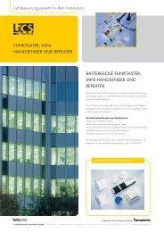 Datenblatt (PDF) - Vossloh-Schwabe.