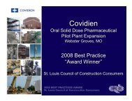 Covidien - the St. Louis Council of Construction Consumers
