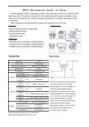 MQ131 Semiconductor Sensor for Ozone