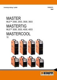 Master Mastertig MastercooL - Kemppi