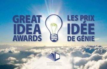 to view the 2013 Great Idea Awards Winners Book - Newspapers ...
